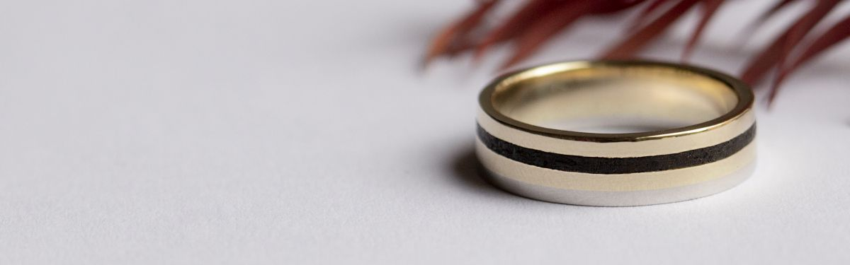 Wedding Rings made for men with character