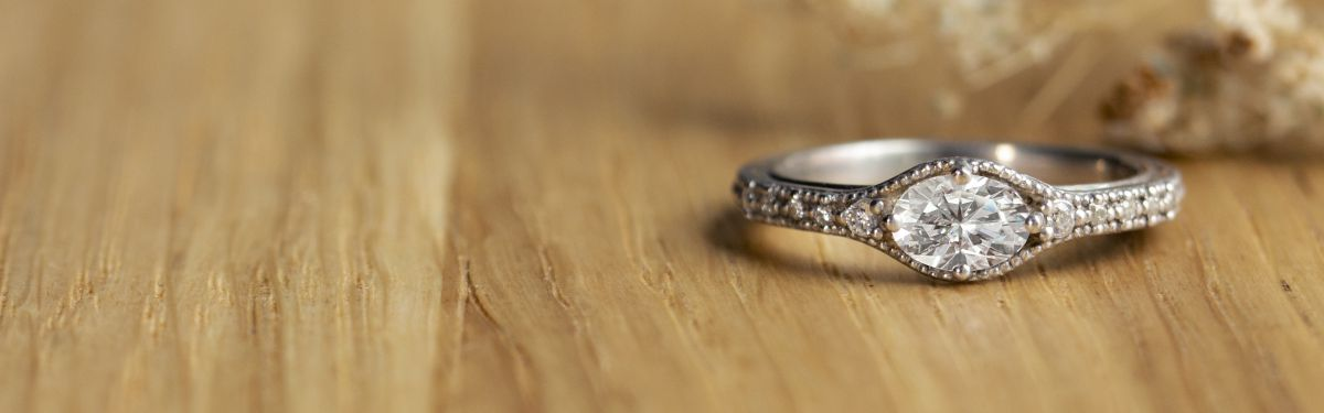 Vintage Medieval Inspired Engagement Rings